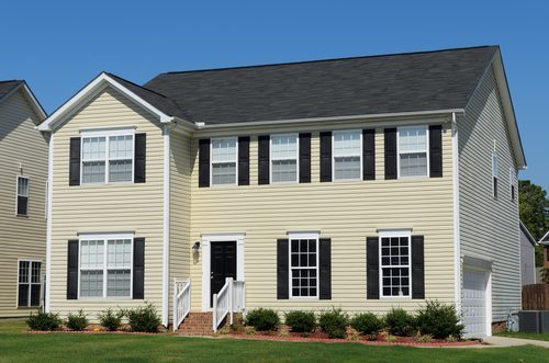 Vinyl siding hometown exterior designs portland Vinyl siding house plans